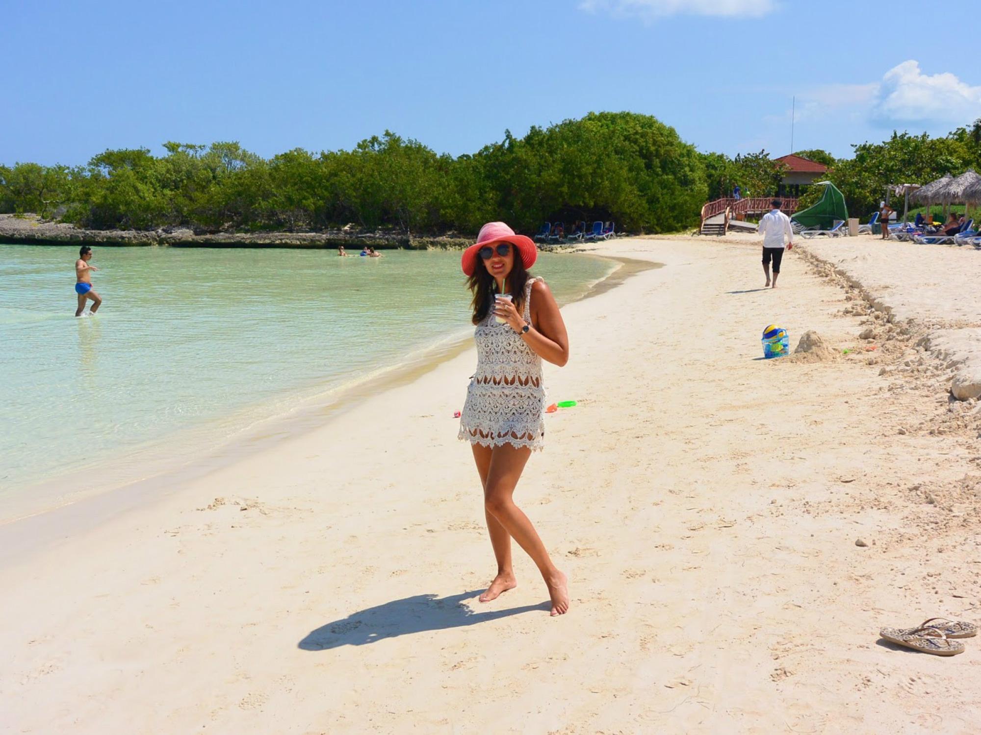 Nadia viajando y viviendo la vida