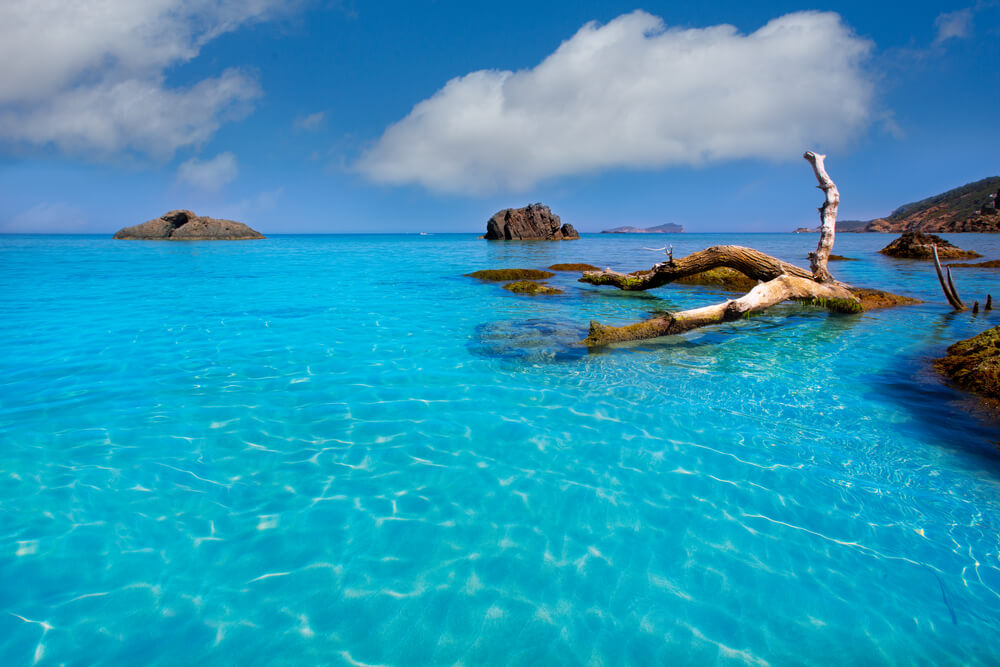 Mejores playas de Ibiza - Aigües Blanques