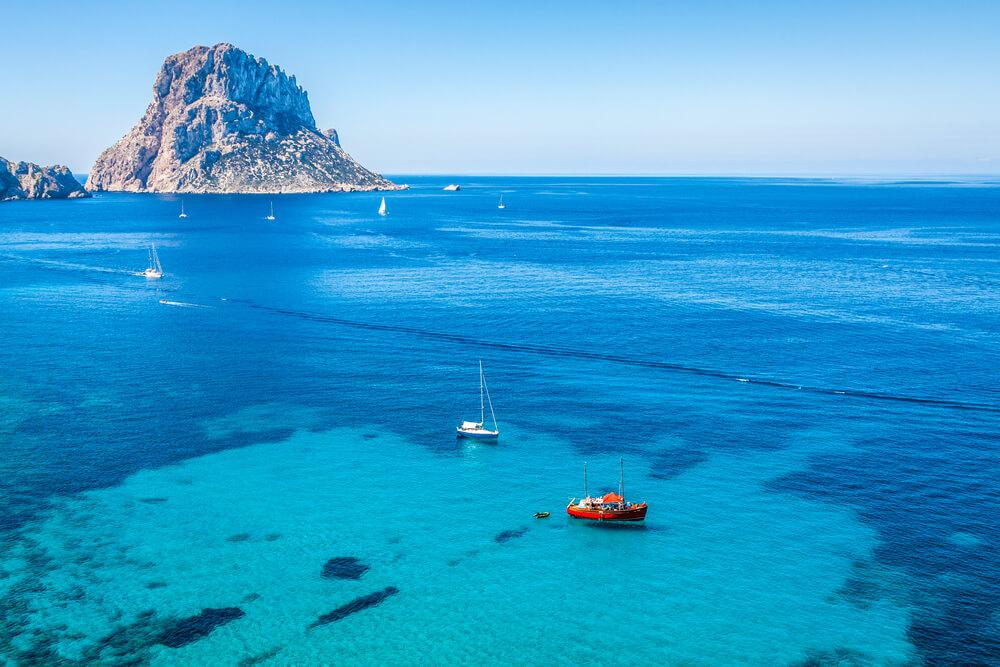Mejores playas de Ibiza - Cala d'Hort