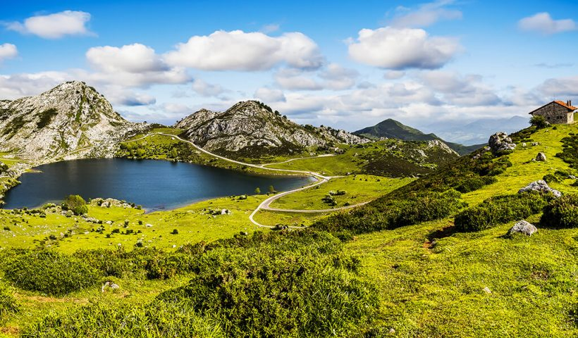 Lago Enol, Picos de Europa - naturaleza de Asturias