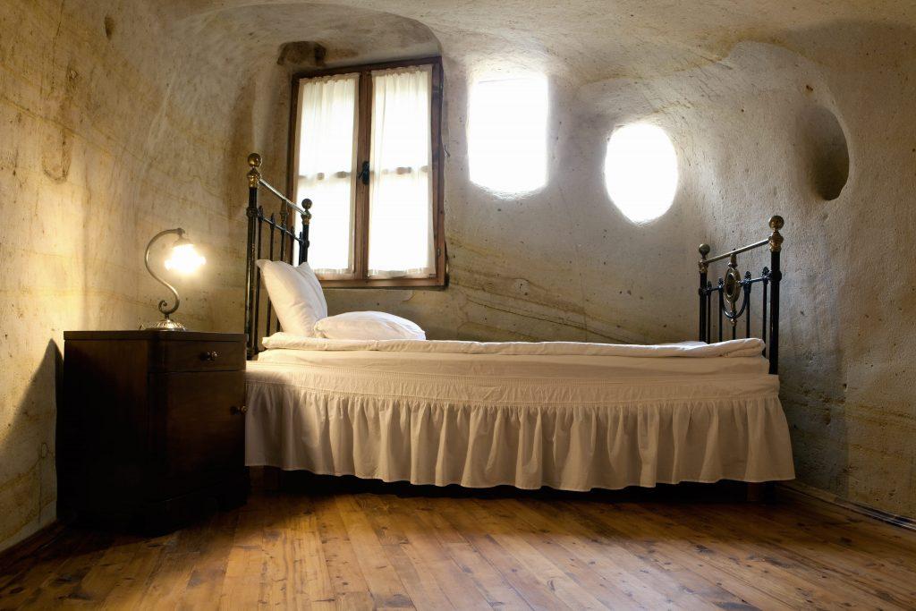 Dormir en una cueva