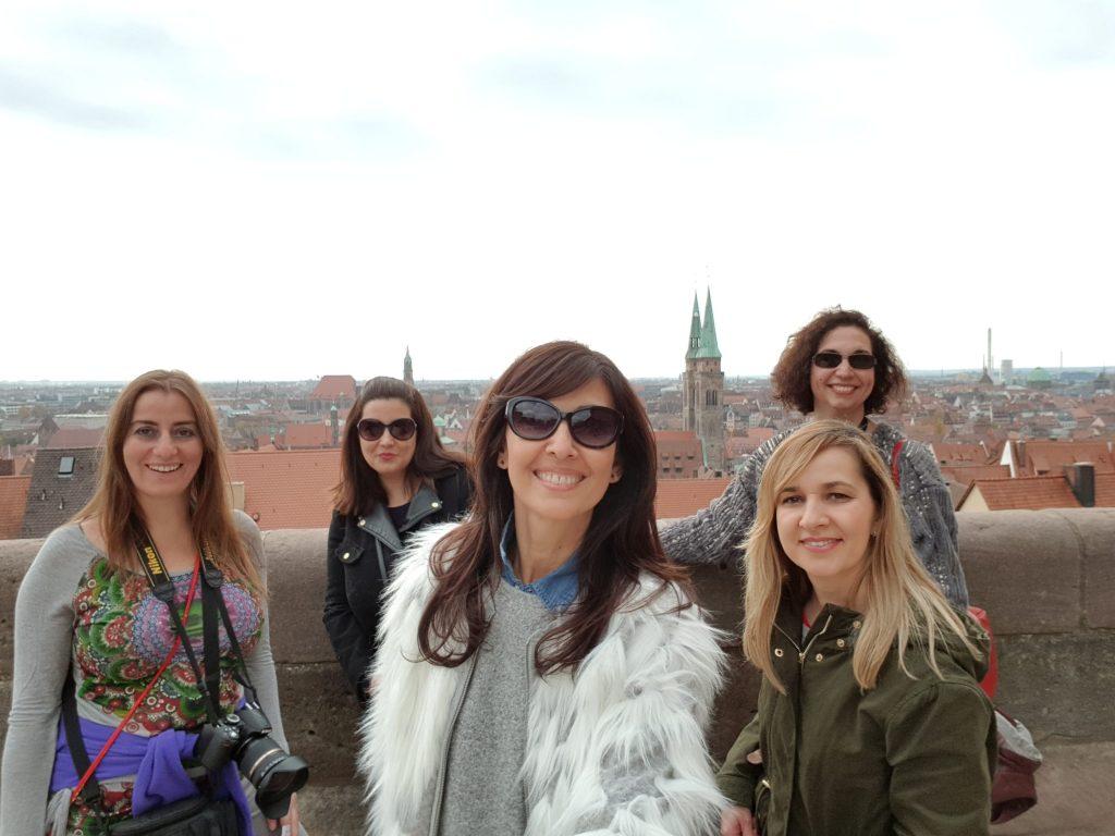 Viajar a Nuremberg transporte