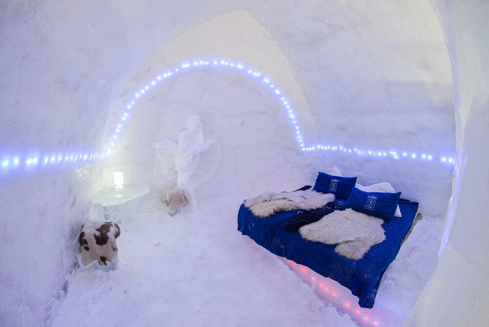 Hoteles de hielo en Rumanía