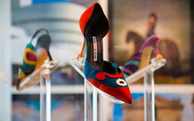 Exposición Manolo Blahnik en Madrid: el arte del Zapato