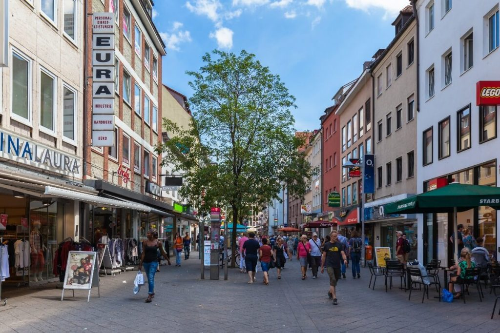 Compras en Nuremberg - Breite Gasse