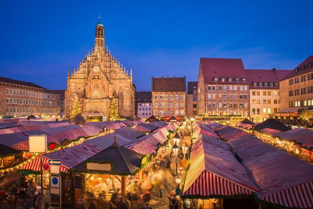 Compras en Nuremberg - Plaza del Mercado Principal