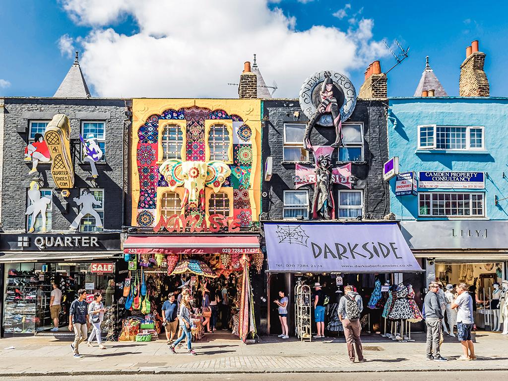 De compras en Londres, Camden Market