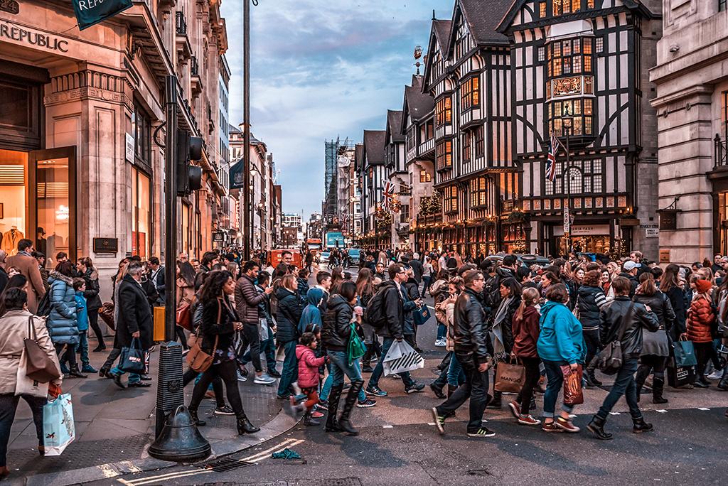 De compras en Londres -Oxford y Regent Street