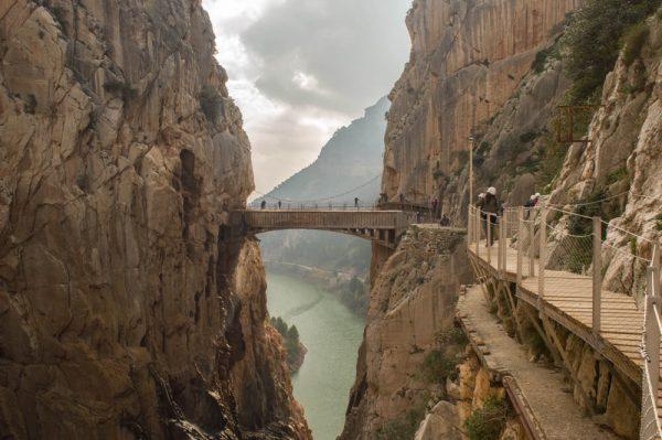 Rutas de senderismo más bonitas de España - Caminito del Rey