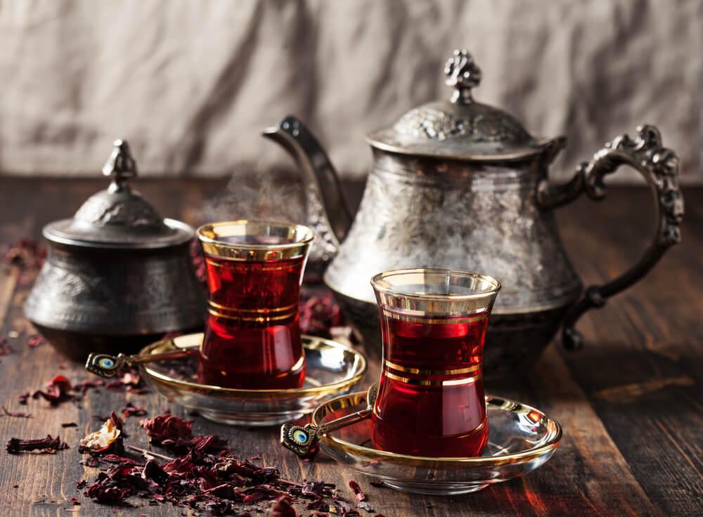 Gastronomía de Egipto - Té