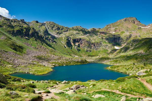 verano en la montaña