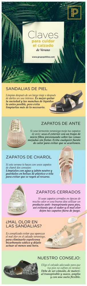 Cuidar los zapatos