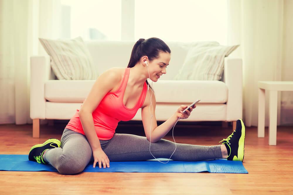 Hacer ejercicio sin moverte de casa y sin excusas