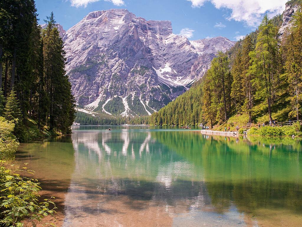 Lago di Braies, Dolomitas - cosas que hacer en Italia