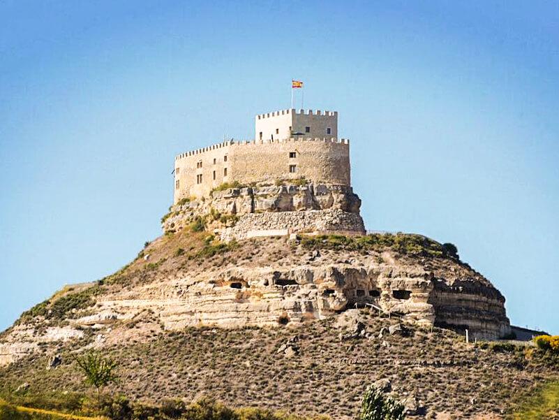 Castillo de Curiel de Duero, dormir en un castillo