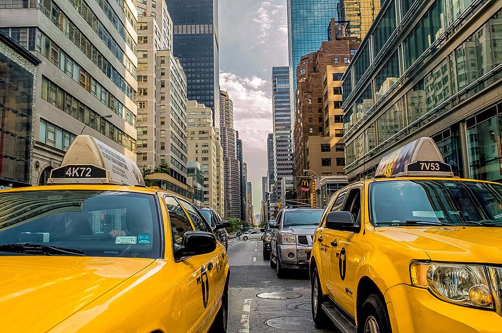 Taxis en Nueva York, viajar a Estados Unidos