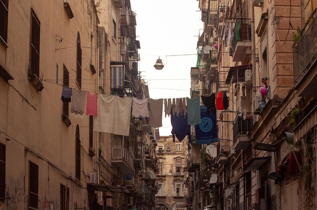 Cosas para hacer en Nápoles calles populares