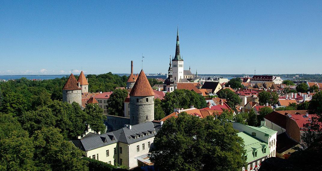 Tres capitales bálticas Tallinn