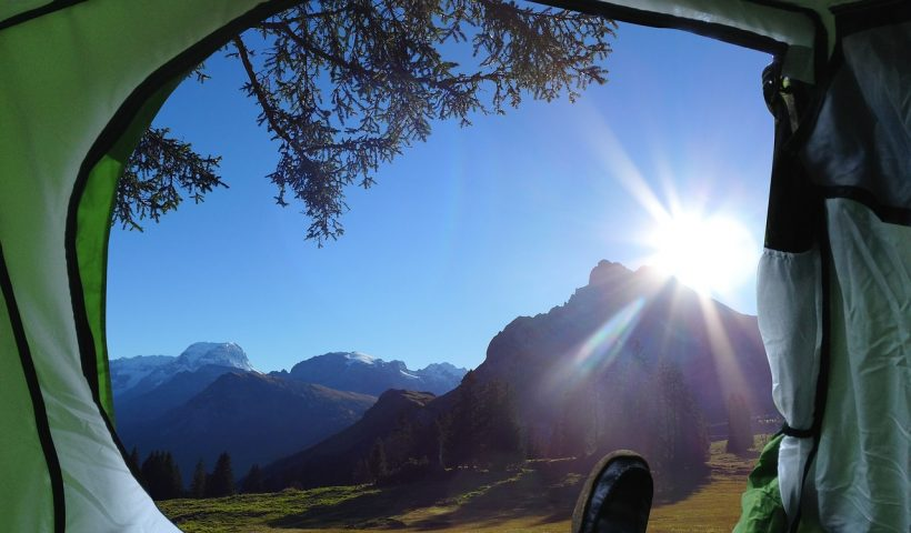 campings en los alpes