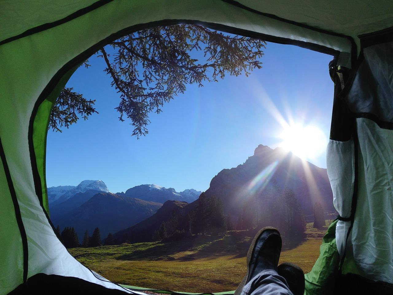 campings en los alpes