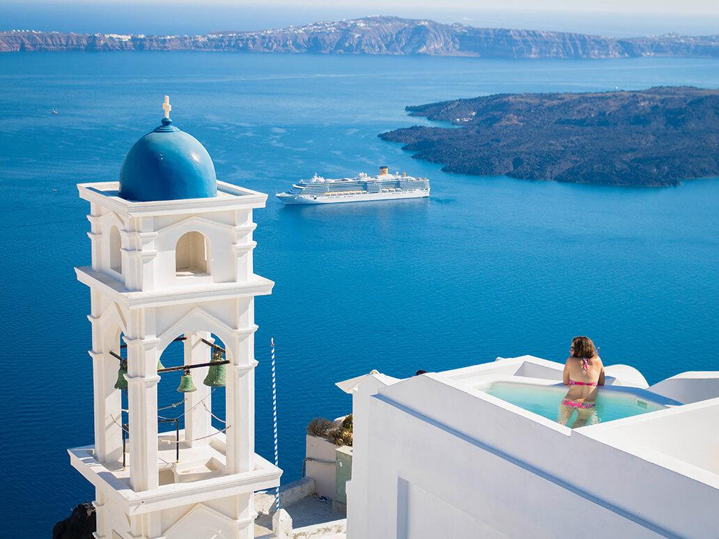 Santorini, destinos de luna de miel