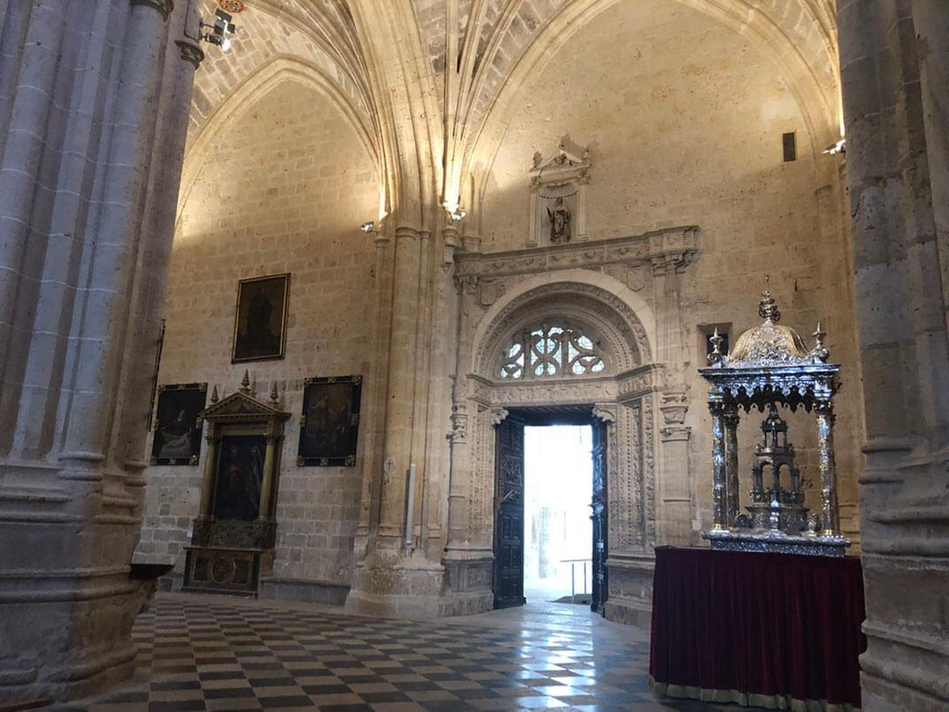 catedral palencia interior