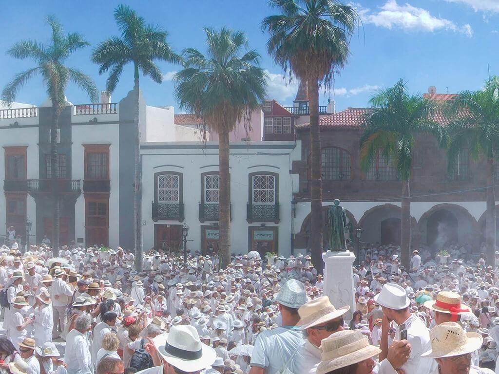 Desembarco de los Indianos, Santa Cruz de La Palma