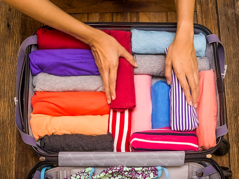 hacer la maleta konmari