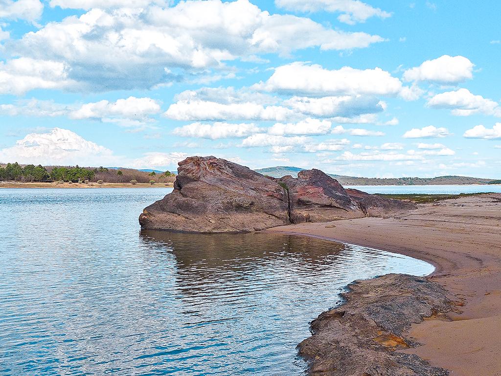 Playa Pita, Embalse de la Cuerda del Pozo