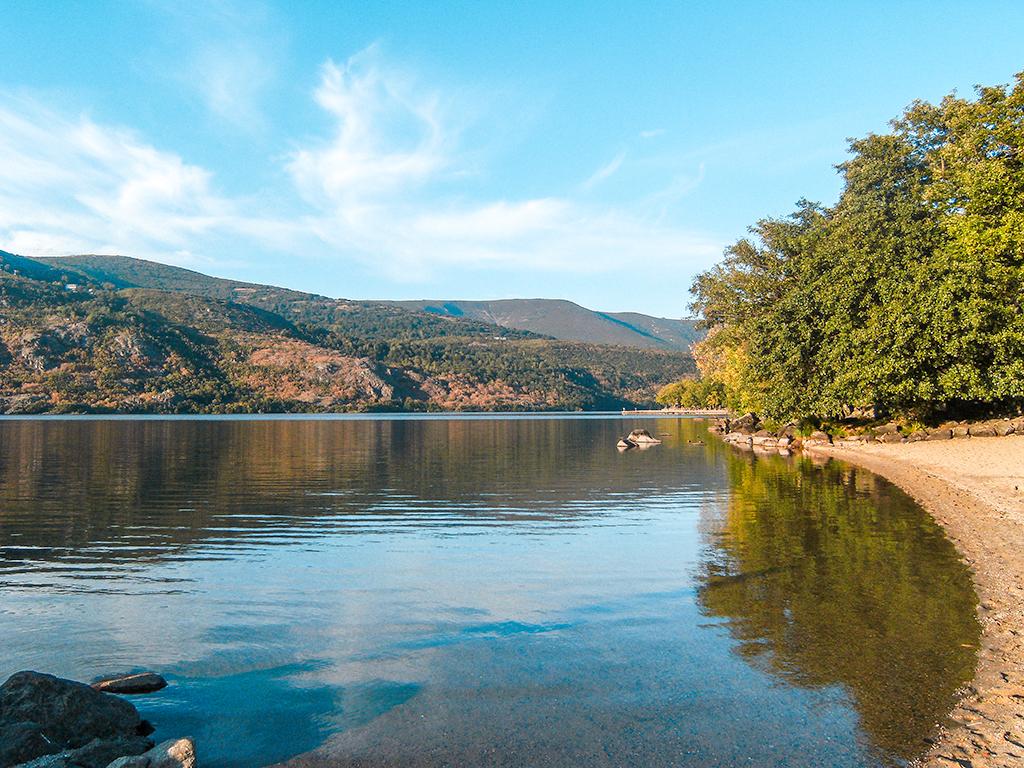 Playa del Lago de Sanabria