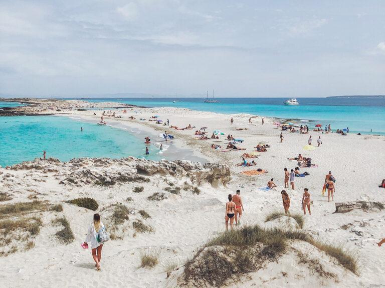 Ses Illetes, una de las mejores playas de España