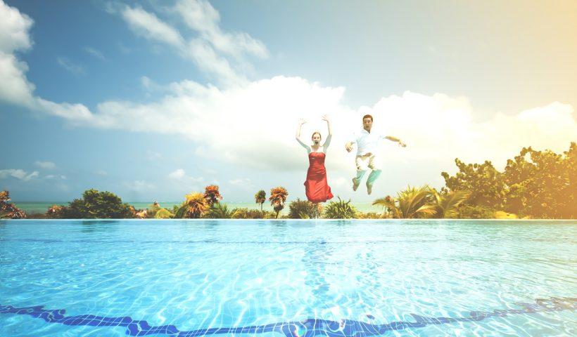 paradores con piscina
