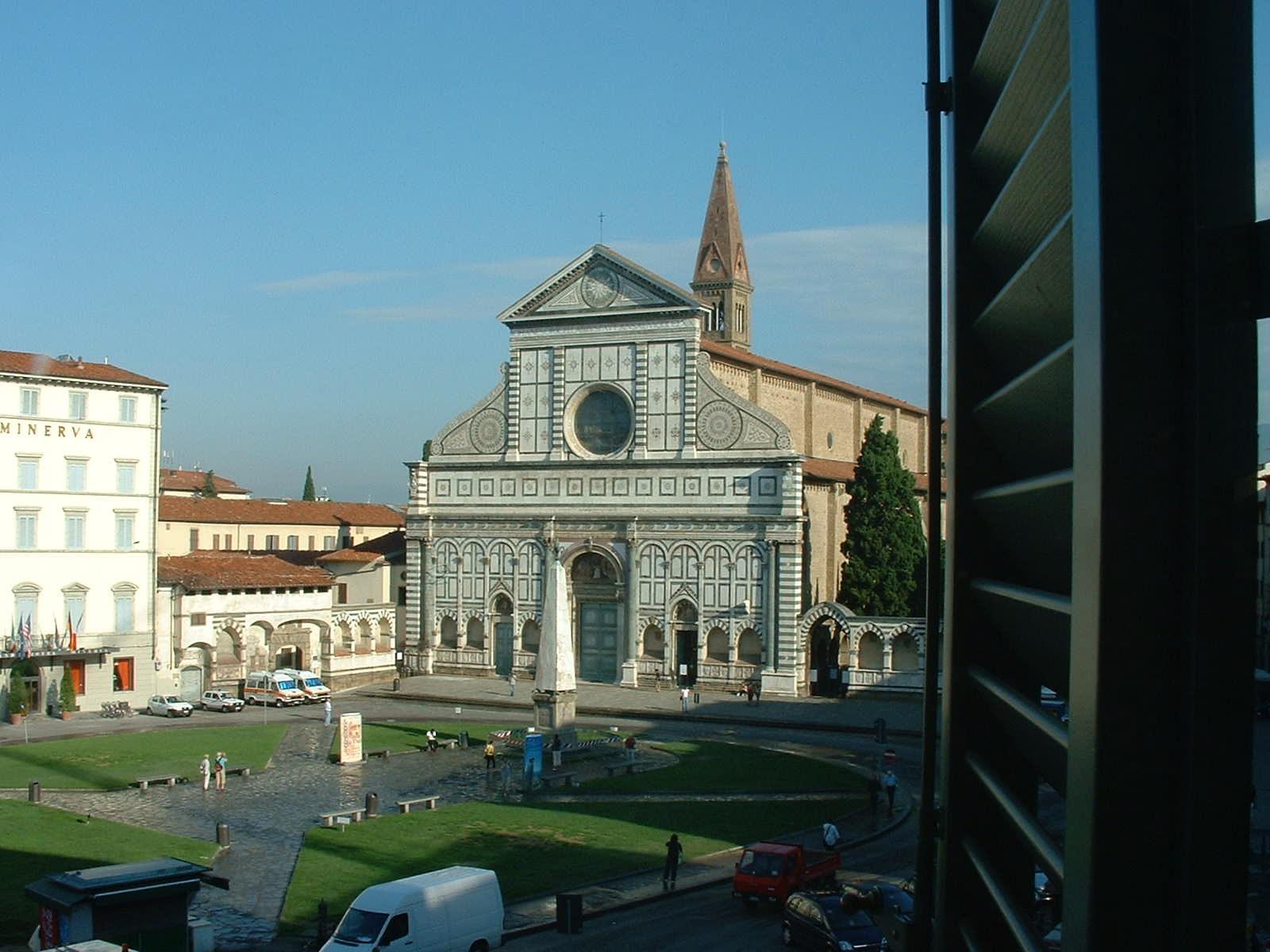 Vistas desde el hotel Santa María Novella