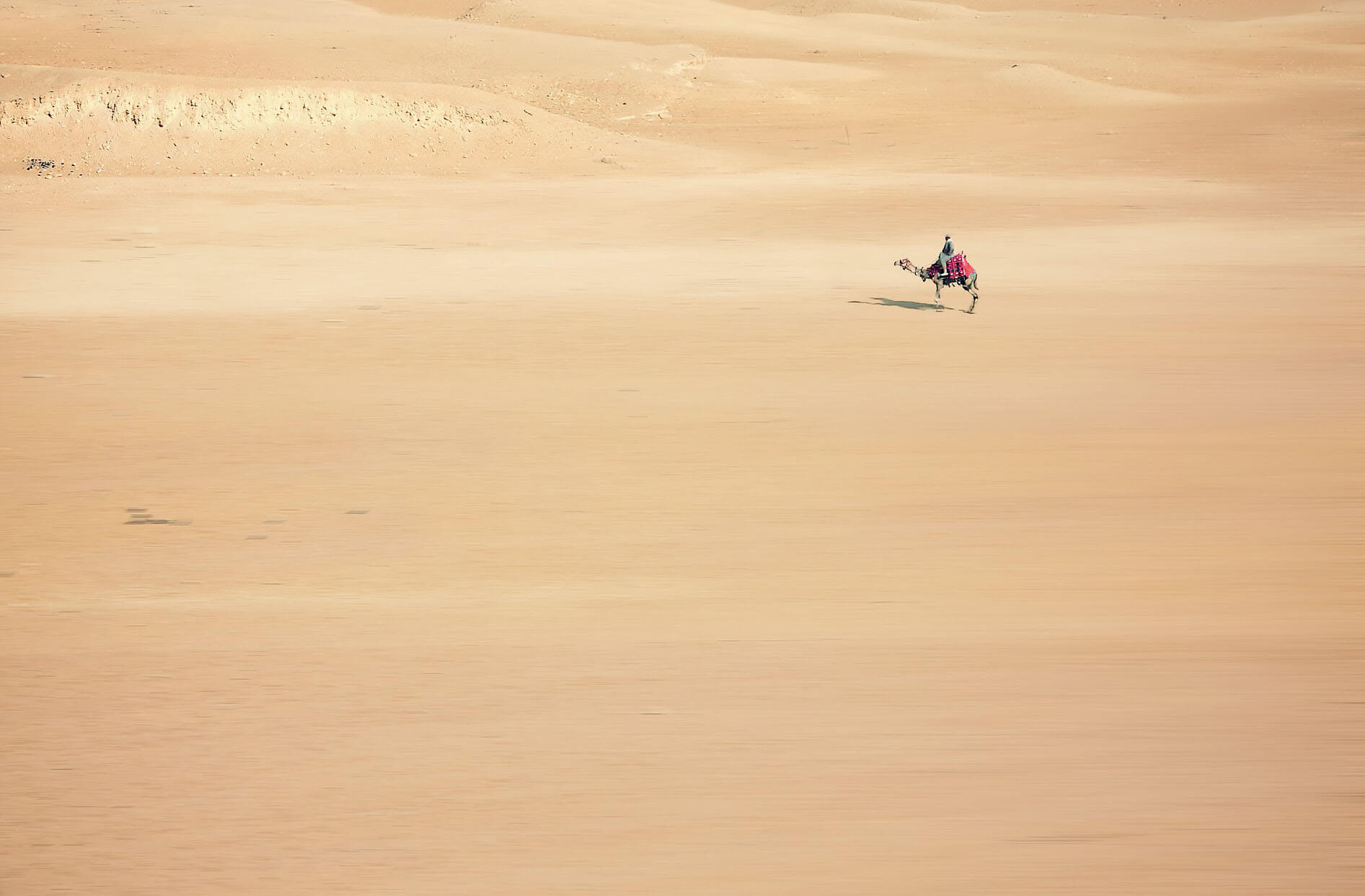 Mujeres viajeras, desierto