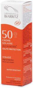 Crema solar facial Alga Maris, SPF50, de Laboratoires de Biarritz - protectores solares minerales