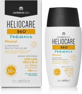 Heliocare pediatrics Mineral SPF50 de Cantabria Labs - protectores solares minerales