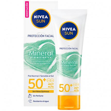Nivea Sun mineral 50+ - protectores solares minerales