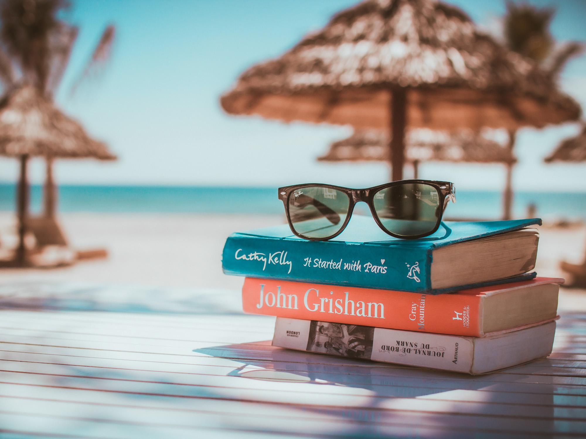 Libros para unas vacaciones en la playa
